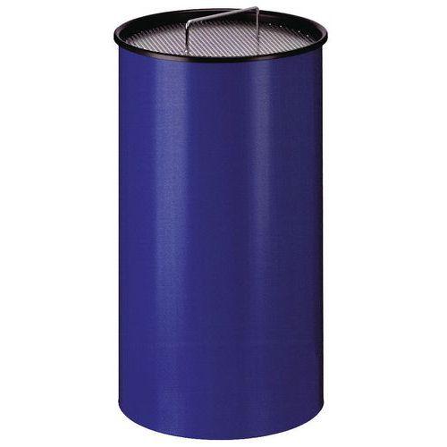 Stojanový popelník se sítem, modrý