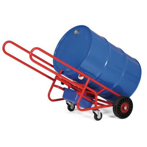Vozík na sudy, s opěrným kolem, do 300 kg