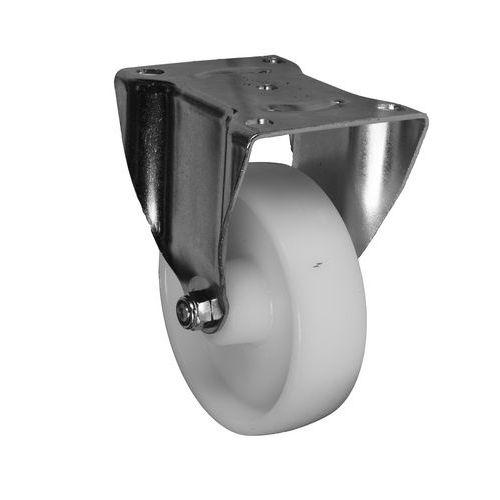 Nylonové transportní kolo s přírubou, průměr 150 mm, kluzné loži