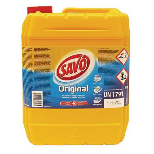 Dezinfekční prostředek Savo Original, 5 l