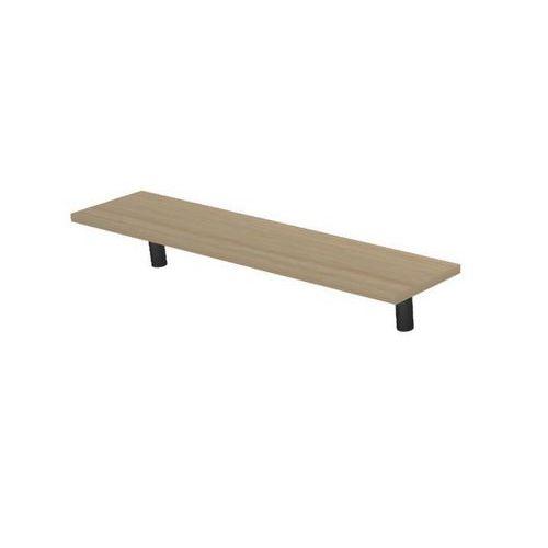 Police na stůl Set 120, 120 x 30 x 20 cm, světlé dřevo