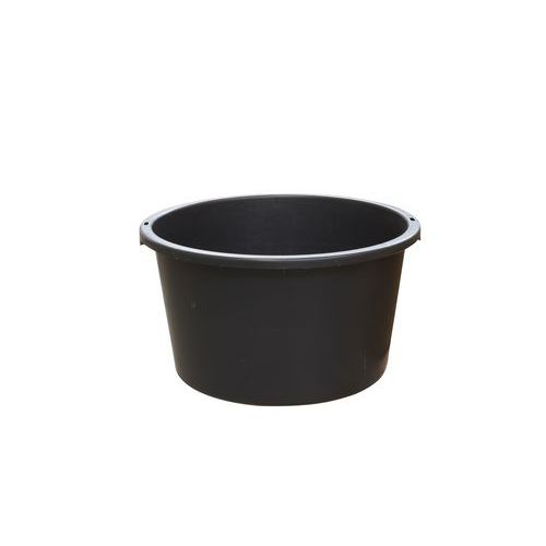 Stavební vědro, 40 l, černé