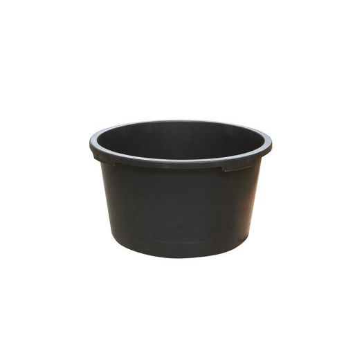 Stavební vědro, 65 l, černé