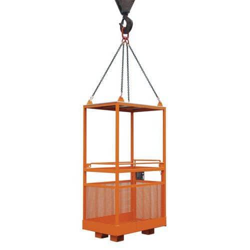 Pracovní klece pro jeřáb, rozměry 80 x 120 cm