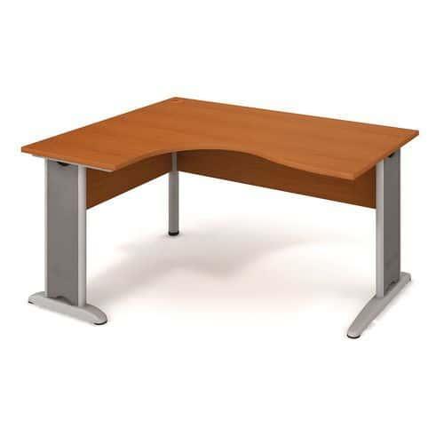 Rohový kancelářský stůl Cross, 160 x 120 x 75,5 cm, levé provede