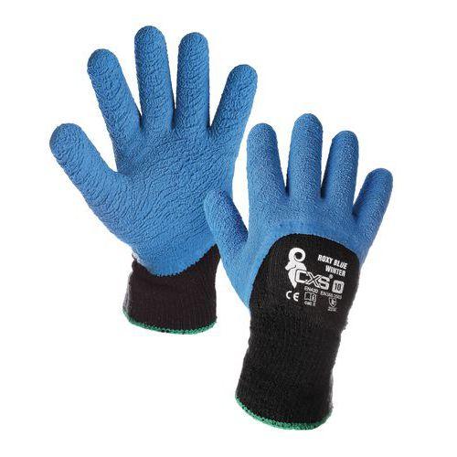 Zimní akrylové rukavice CXS polomáčené v latexu 6ad2ce9d67