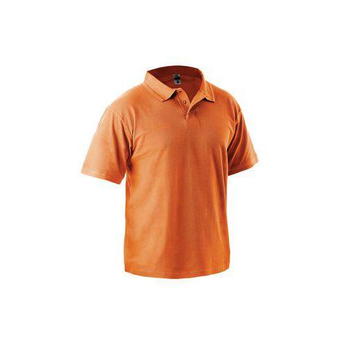 Pánská polokošile s krátkým rukávem, oranžová