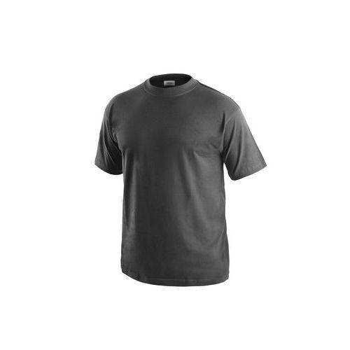 Pánské tričko s krátkým rukávem CXS, tmavě šedé