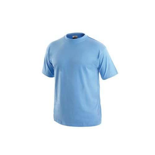 Pánské tričko s krátkým rukávem, světle modré