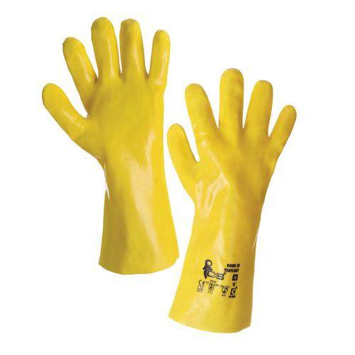 PVC rukavice CXS, žluté