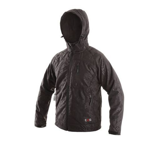Pánská softshellová bunda, černá, vel. 3XL