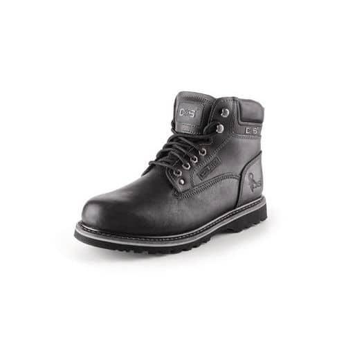 Pracovní kožené kotníkové boty CXS Road, černé