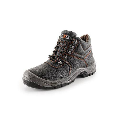 Pracovní kožená kotníková obuv STONE, vel. 48