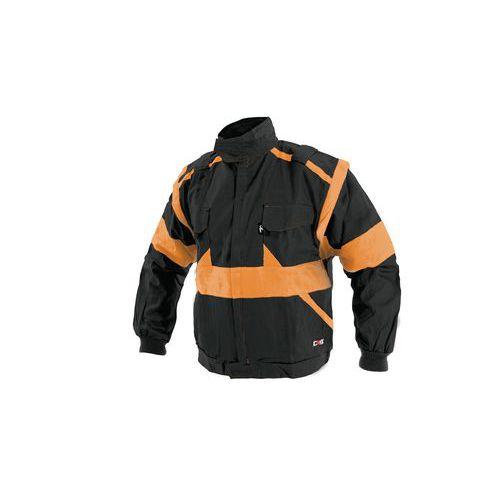 CXS LUXY Eda blůza černo-oranžová 1010006803