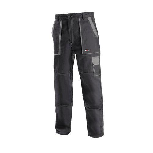 Pánské montérkové kalhoty CXS, černé/šedé