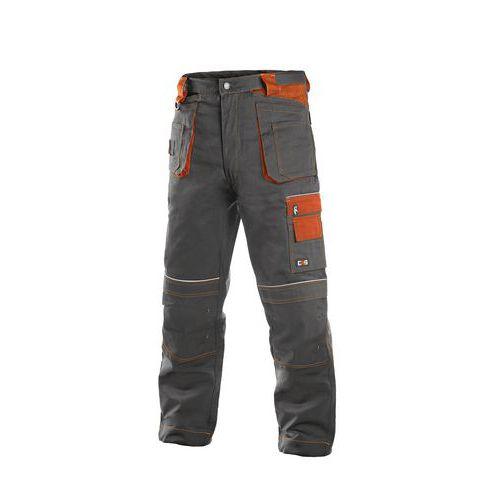 Orion Teodor kalhoty šedo-oranžové