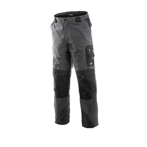 Pánské montérkové kalhoty CXS, šedé/černé