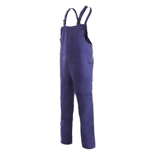 Klasické montérkové kalhoty s laclem, vel. 62