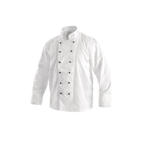 Kuchařský rondon dvouřadý bílý, vel. 64