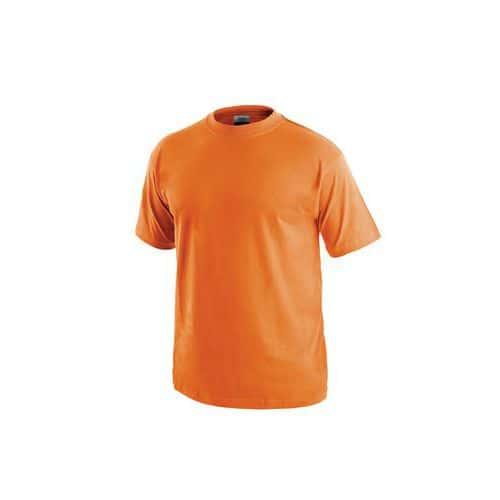 Pánské tričko s krátkým rukávem, oranžové