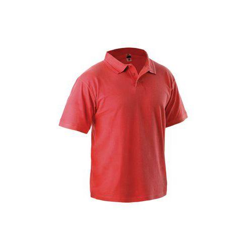 Pánská polokošile s krátkým rukávem CXS, červená