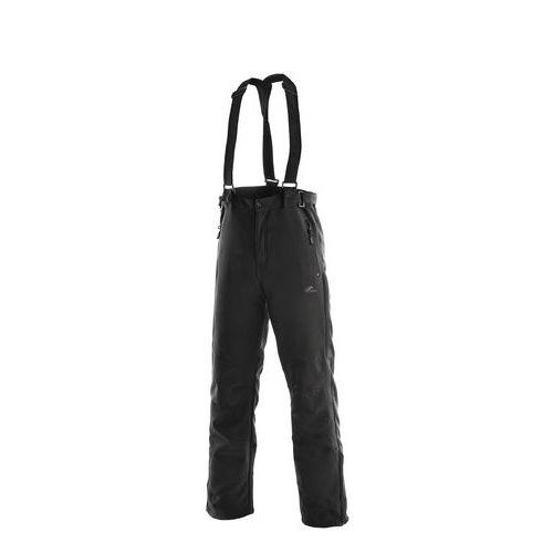 Softshellové kalhoty CXS s kšandami, černé