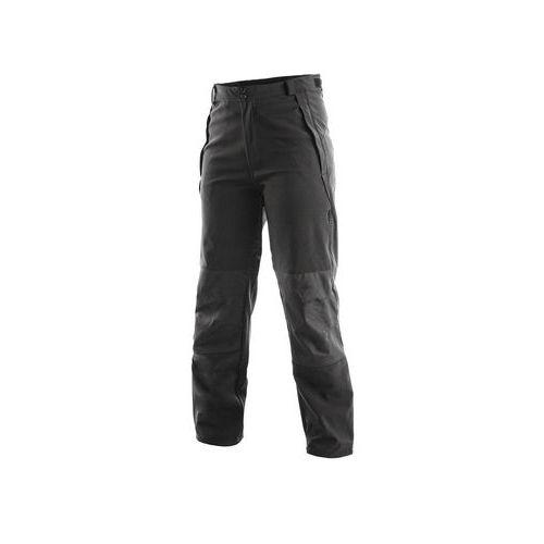 Softshellové kalhoty CXS, černé