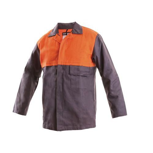 Pánská svářečská blůza CXS, šedá/oranžová