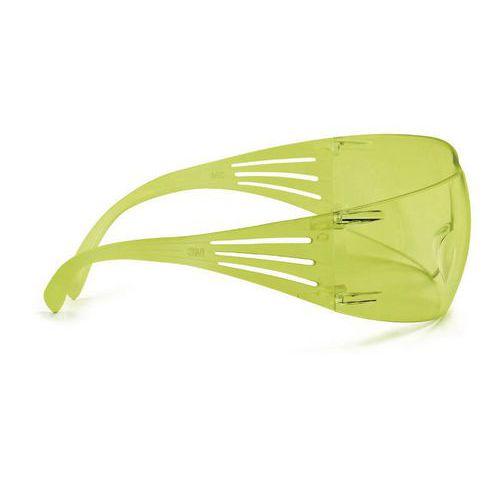 Nemlživé ochranné brýle 3M SecureFit se žlutými skly