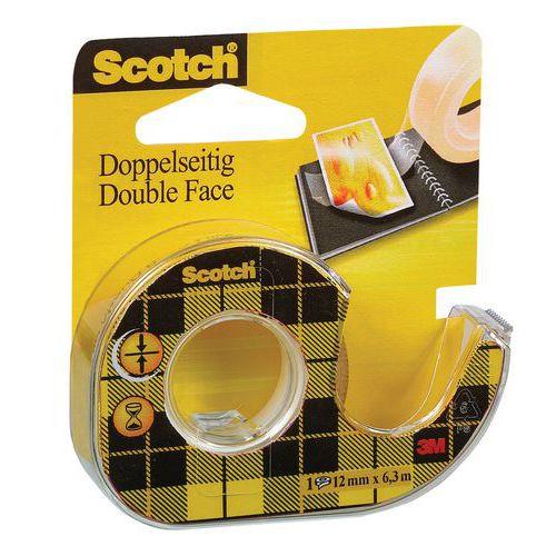 Scotch 136 Double - oboustranná lepicí páska oboustranná, 12 mm x 6,3 m