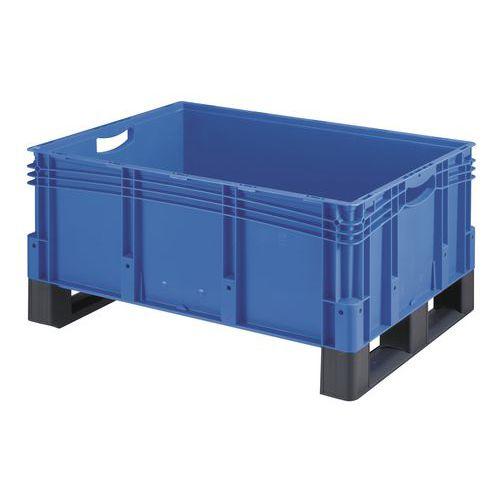Plastová přepravka s ližinami, 121 l