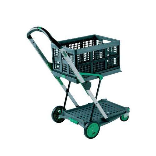 Skládací vozík s přepravkou