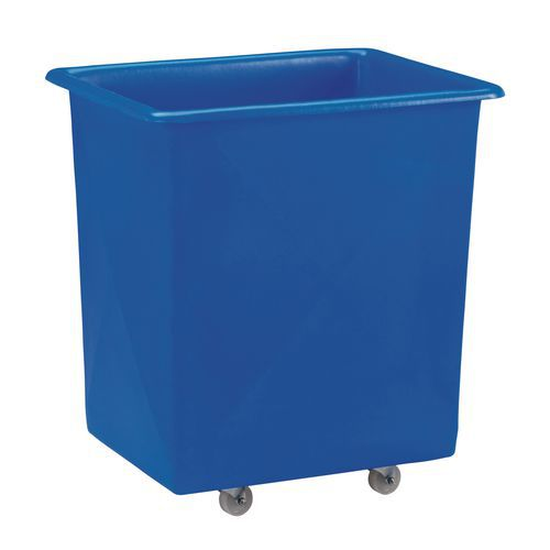Velkoobjemový plastový kontejner s kolečky, 225 l
