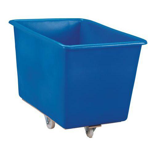 Velkoobjemový plastový kontejner s kolečky, 320 l