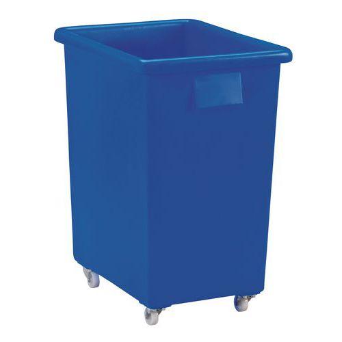 Velkoobjemový plastový kontejner s kolečky, 150 l