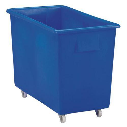 Velkoobjemový plastový kontejner s kolečky, 170 l