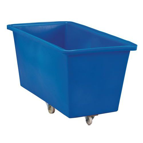 Velkoobjemový plastový kontejner s kolečky, 425 l