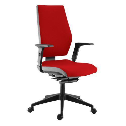 Kancelářská židle One, červená