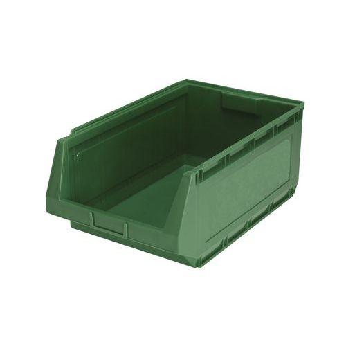 Plastový box Manutan 25 x 36,3 x 58 cm, zelený