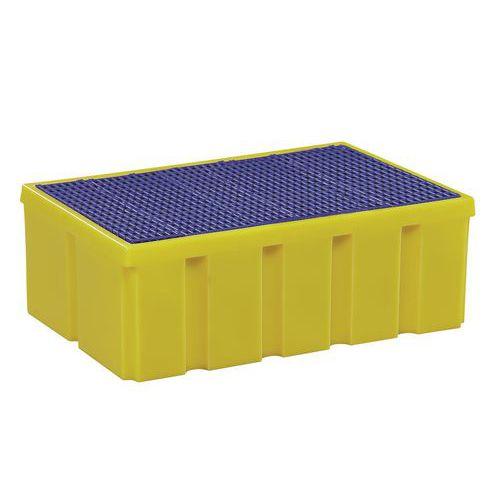 Plastové záchytné vany, kapacita 100 - 200 l