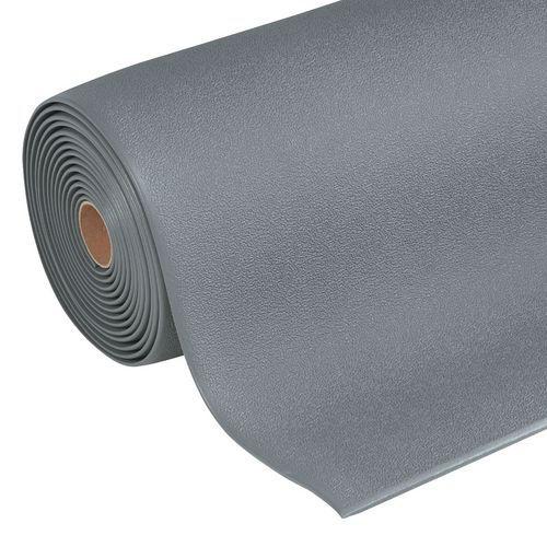 Protiúnavová průmyslová rohož Manutan s granulovaným povrchem, š