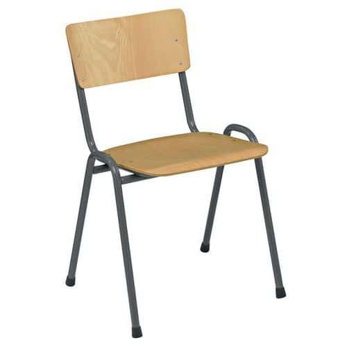 Dřevěná jídelní židle Antracit