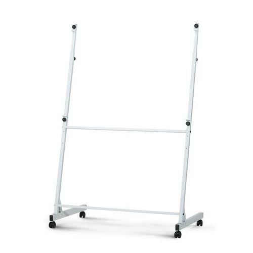 Mobilní stojan pro bílé tabule, šířka 140 cm
