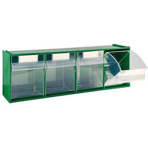 Zásuvkový modul, 4 výklopné zásuvky - Prodloužená záruka na 10 let