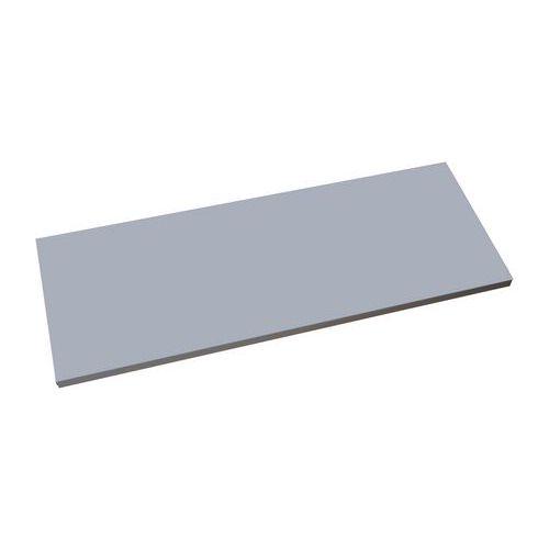 Přídavná police, 120 cm, stříbrná