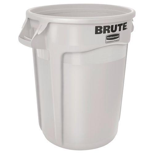 Plastový kulatý kontejner BRUTE, 121 l - Prodloužená záruka na 10 let