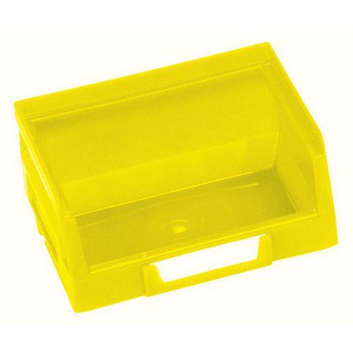 Plastový box 5,5 x 10,3 x 9 cm, žlutý