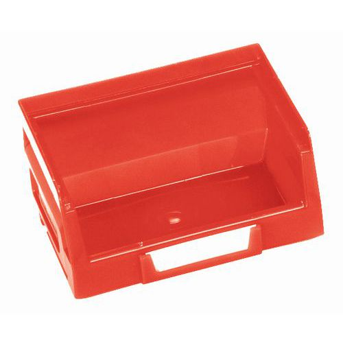 Plastový box 5,5 x 10,3 x 9 cm, červený