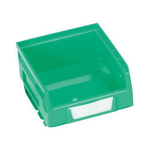 Plastový box 6,2 x 10,3 x 12 cm, zelený
