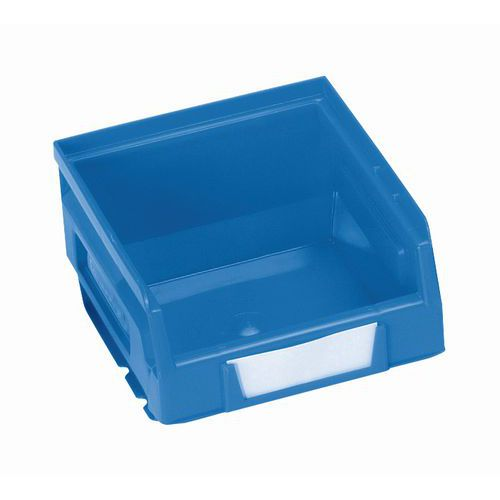 Plastový box 6,2 x 10,3 x 12 cm, modrý